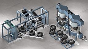 Picture of Soluciones de automatización Asco para la fabricación de neumáticos