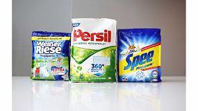 Foto de Henkel ampliará el uso de resina reciclada en sus envases flexibles para detergentes