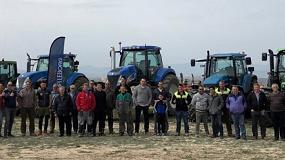 Foto de La primera 'Tractorada de los Héroes Trelleborg 2018' se celebró en Aragón