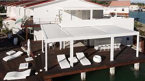 Foto de KE en una mansión privada en el puerto de Antigua, en el Caribe