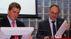 Foto de Acuerdo de colaboración entre BEC y AEDTFAA