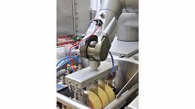 Foto de Robots en el sector del queso