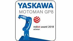 Foto de El robot de manipulación Motoman GP8 de Yaskawa gana el premio Red Dot a la alta calidad de diseño