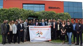 Foto de Bombay Industries Association visita Ega Master