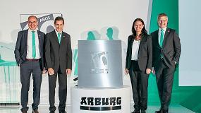 Foto de Arburg celebra sus diez años en México