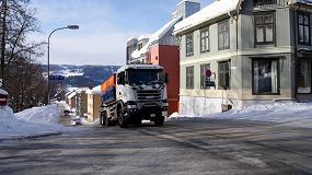 Foto de Lillehammer elige un camión para la retirada de la nieve equipado con transmisión Allison