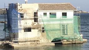 Foto de Mapei participa en la rehabilitación de la Casa Venecia, una joya menorquina