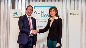 Foto de CaixaBank y Microsoft impulsan los Premios WONNOW para premiar la excelencia femenina en carreras técnicas