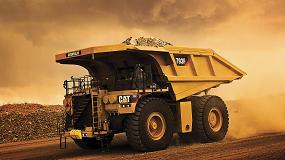 Foto de Caterpillar produce la unidad 5000 de su dumper de minería Cat 793