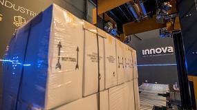 Foto de Innova presenta en Hispack 2018, una tecnología de enfundado de palets que maximiza el ahorro