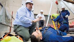 Foto de Hombre de mediana edad recién incorporado a la empresa: perfil de víctima de accidente laboral