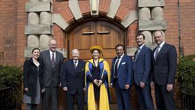 Foto de Una universidad británica concede el doctorado honorario a Cathrina Claas-Mühlhäuser