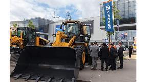 Foto de Las principales firmas internacionales de maquinaria de construcción se citan en Bauma CTT Russia 2018
