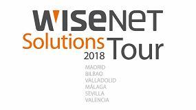 Foto de Hanwha Techwin presenta Wisenet Solutions Tour 2018