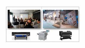 Foto de Canon muestra sus nuevas tecnologías de impresión en el evento itinerante Applications Experience