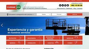 Foto de Loxam-Hune estrena nueva web corporativa