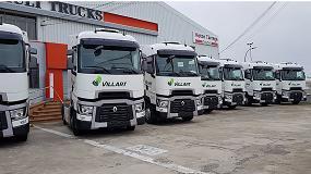 Foto de Villart Logistic renueva su confianza en la Gama T de Renault Trucks