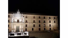 Foto de Schréder, encargada de la nueva iluminación ornamental del Monasterio de Uclés