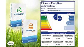 Foto de Productor, de Gaia Software, permite la gestión de la eficiencia energética de la ventana