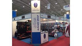 Foto de Ega Master expone en la Feria Internacional Fabex de Arabia Saudí