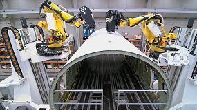 Foto de Un robot para taladrar y remachar fuselajes de aviones gana el Premio Vector de Oro