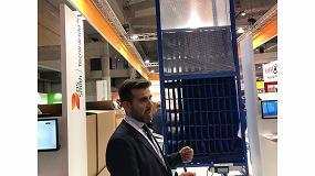 Foto de DS Smith Tecnicarton presenta un híbrido entre embalaje industrial, estantería y embalaje de suministro a línea