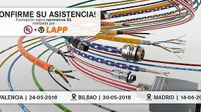Foto de Lapp imparte formación sobre la normativa UL en Valencia, Madrid y Bilbao (BIEMH)