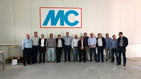 Picture of Una delegación de MC Brasil visita la sede central en España de la compañía ubicada en Valencia