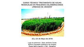 Foto de Remosa, presente en la ponencia 'Curso técnico de tratamiento aguas residuales en pequeñas aglomeraciones urbanas de Aragón'