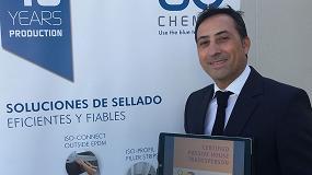 Foto de Entrevista a Manuel Medina, director para España y Portugal de ISO Chemie