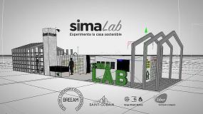 Foto de Siber muestra en SIMA cómo se respira en una casa sana