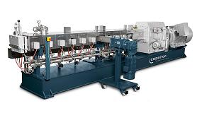 Picture of Las extrusoras de Coperion convierten el producto reciclado en compound de alta calidad
