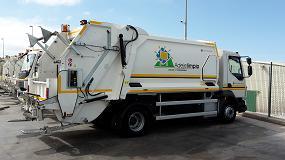 Foto de Adeje Limpio adquiere once vehículos de recogida de residuos equipados por Geesinknorba Spain