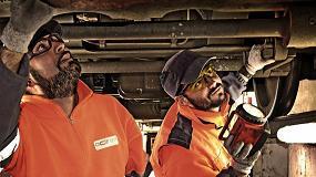 Foto de DHL se integra en el plan de mantenimiento ferroviario de Actren