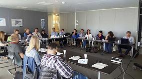 Foto de La AEI Tèxtils organiza la segunda reunión del Consorcio del Proyecto Europeo Texstra en Terrassa