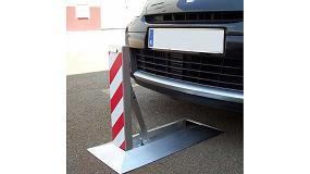 Foto de Divetis muestra sus soluciones para delimitar plazas de aparcamiento