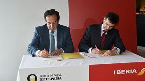 Foto de Aceites de Oliva de España e Iberia firman un acuerdo