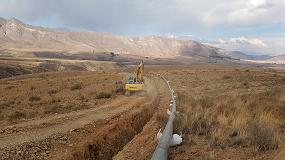 Foto de Una fresadora MB-R800 trabaja a más de 4000 metros de altura en Bolivia