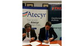 Foto de FMA España y Atecyr firman un convenio de colaboración para promover buenas prácticas en la gestión de inmuebles e instalaciones térmicas