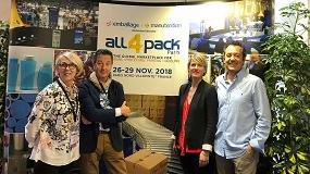 Foto de All4pack 2018 se centra en ofrecer soluciones integradas para el packaging