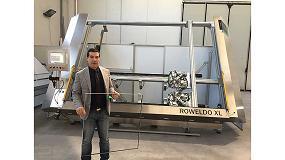 Foto de Velocidad en la fabricación de vidrio aislante con Rottler & Rüdiger y Swisspacer