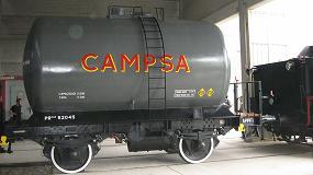 Foto de El Grupo CLH dona un vagón cisterna al Museo del Ferrocarril de Móra la Nova, Tarragona