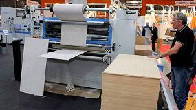 Foto de Barberán presentó en Xylexpo maquinaria de última generación para la fabricación de nuevos acabados digitales