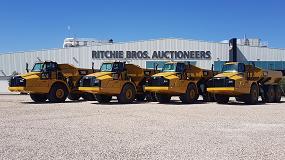 """Foto de Ritchie Bros ofrece """"una buena oportunidad de negocio"""" antes del verano"""