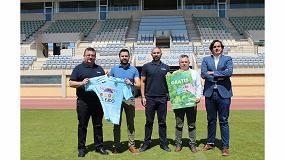Foto de Grupo Cristalplant y el Club Deportivo El Ejido lanzan la campaña 'El campo nos une'.