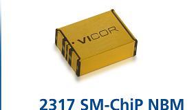 Foto de Convertidor bidireccional Vicor de 48V/12V NBM para aplicaciones en centros de datos y en el automóvil