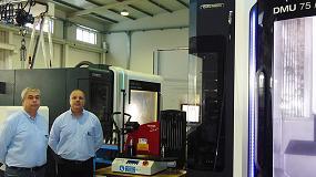 Foto de Moldata confía en la tecnología Haimer para mejorar el mecanizado de moldes