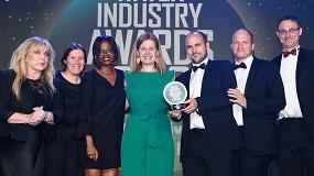 Fotografia de Aimen recibe el Premio de la Industria del Agua del Reino Unido por su proyecto Incover