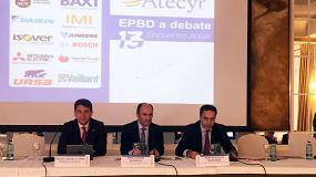 Foto de La refundición de la Directiva de Eficiencia Energética en los Edificios protagoniza el XIII Encuentro Atecyr