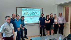 Foto de El proyecto europeo BOSS4SME, liderado por Cenfim, ultima su plataforma de formación online que incluye 42 píldoras formativas para los 'directores de ventas online'